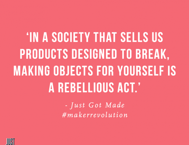 Rebel in 2017, Maker Revolution!